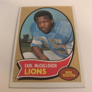 1970 Topps Earl McCullouch Card