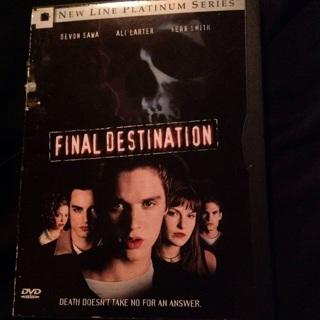 Final destination 1 DVDs