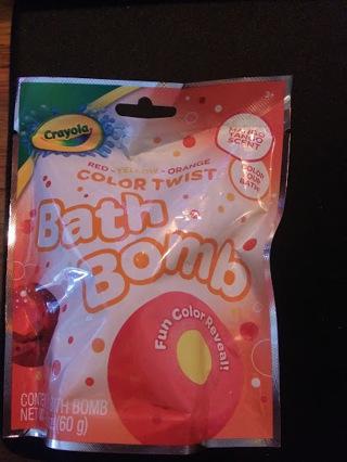 Crayola Bath Bomb - Mango Tango
