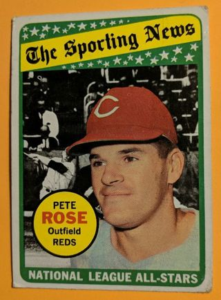1969 PETE ROSE ALL-STAR