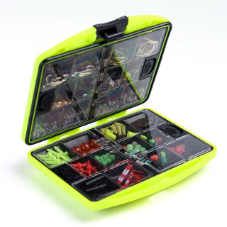 Hot 24 Compartments Fishing Tackle Box Hooks Lure Full Loaded Waterproof