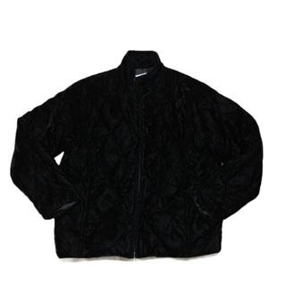 KORET Petite Black Velour Jacket Large