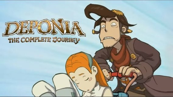 Deponia The Complete Journey Steam Key