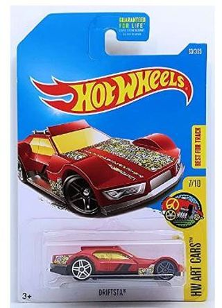 Hot Wheels HW Art Cars Driftsta 63/365 7/10
