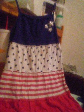 Patriotic Dress size 7