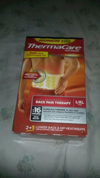 ThermaCare Heat wrap (New)