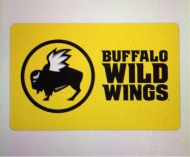 ⭐️$5 Buffalo Wild Wings Gift Card⭐️ GIN = $3.38 ☄️Was 1875