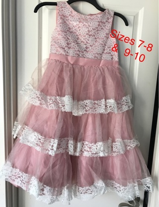 2 Wedding party dresses for girls