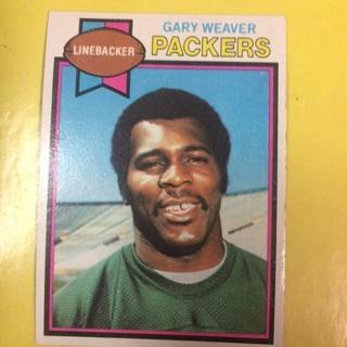 1979 Topps #218 LB Gary Weaver - Packers