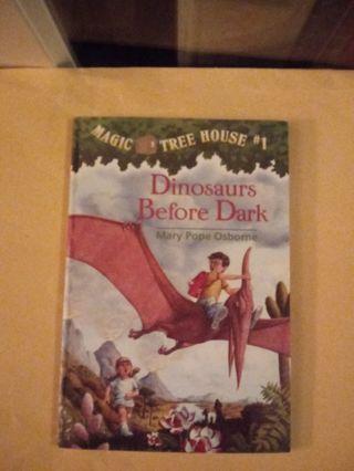Magic Tree House Book Dinosaurs Before Dark