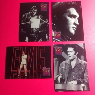 4 Elvis 1992 Comeback Special Cards!