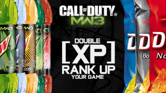 7 DEW XP CODES** emailed to winner @ end of auction