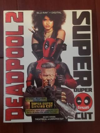 Deadpool 2 Super Duper Cut Bluray