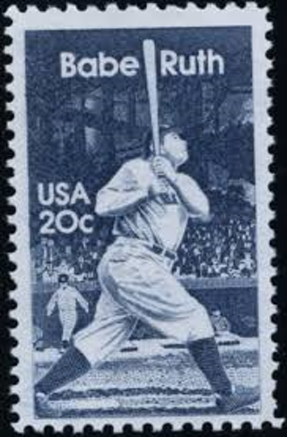 3 Scott 2046 Babe Ruth Unused 20 Cent Stamp