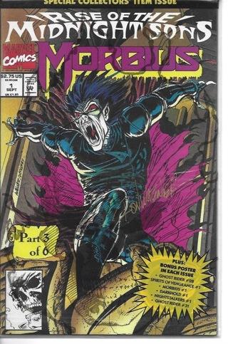 Rise of The Midnight Morbus #1 Marvel Comics