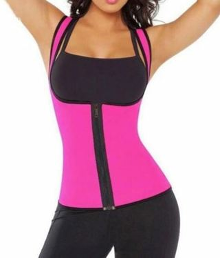 1 NEW High Quality Neoprene Tummy Body Shaper Trimmer Shapewear Top FREE SHIPPING