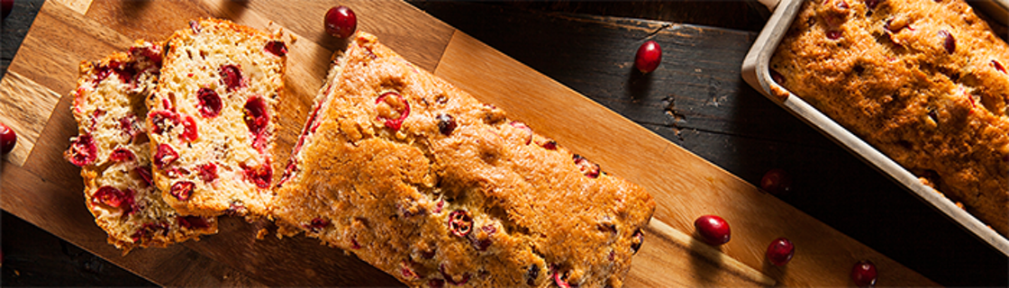 cranberry oatmeal quick bread