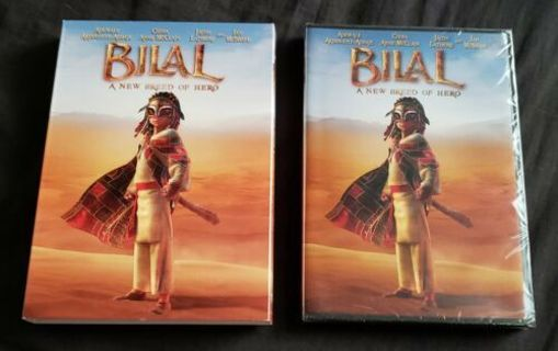 2018 Bilal: A New Breed of Hero WS + Slipcover, DVD Movie-New & Sealed-PG-13