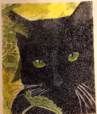 Cat Lovers !  Win 2 art prints for GIN