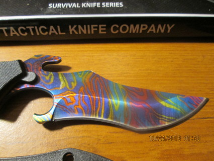 8.5 Inch Razor Tactical Boot/Neck Knife!