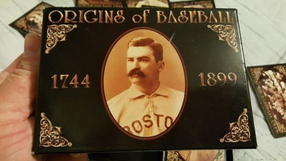Free Origins Of Baseball 1744 1899 100 Card Premium Limited