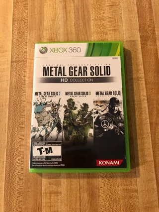 Metal Gear Solid HD Collection (Xbox 360/Xbox One)