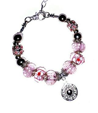 """(NEW!) """"Neaera, Greek Goddess of the Rising Sun"""" Euro Bracelet! {SUN Charm}"""