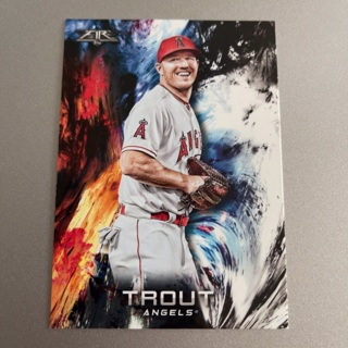 2018 Topps Fire Mike Trout