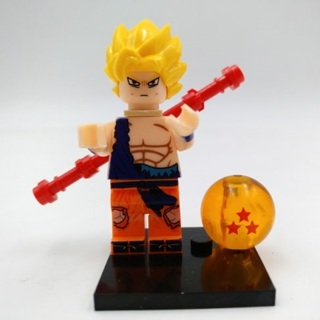 New Goku Minifigure Building Toy Custom Lego
