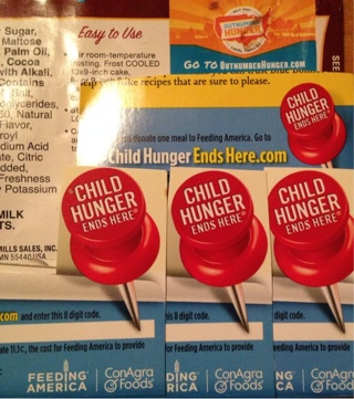 4 Child Hunger Ends Here Codes & 1 Out Number Hunger Code