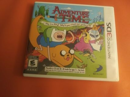 3DS Game - Adventure Time: Hey Ice King! Why Did You Steal Our Garbage?!! (complete)