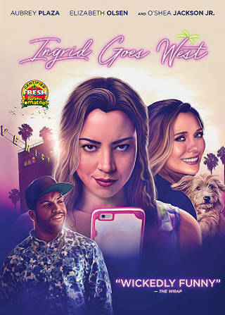 2017 Ingrid Goes West DVD Movie New & Sealed-Elizabeth Olsen-Wickedly Funny!