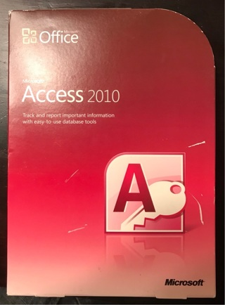 Microsoft office access 2010 with key