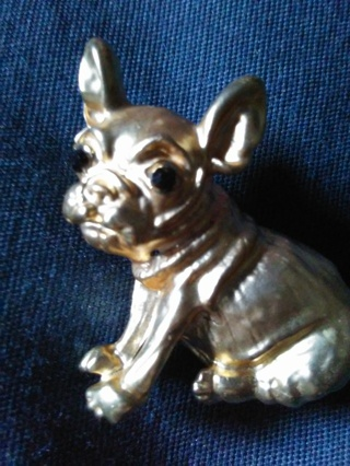 new bulldog pin Betsey Johnson original free shipping