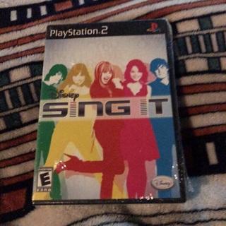 PS2 Disney Sing
