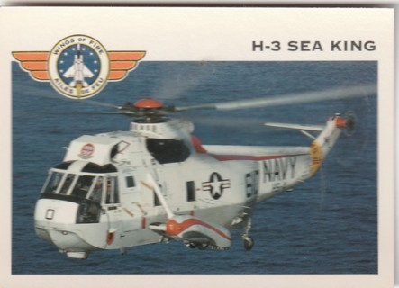 Vintage Collector Card: Wings of Fire: H-3 Sea King