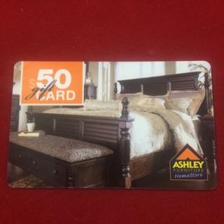 Ashley Furniture 50 00 Gift Card