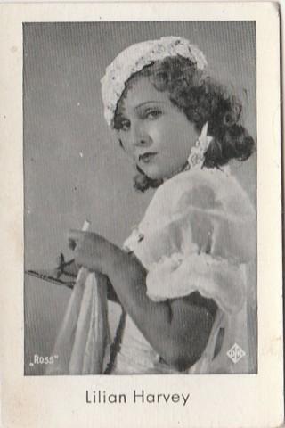 Josetti Filmbilder Lillian Harvey card 292 original not reprint 1930s