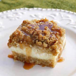 Caramel Apple Cheesecake Bars (recipe)