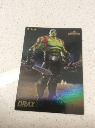 Drax (21/75) foil?