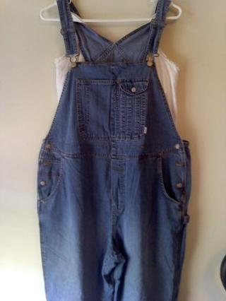 Maternity Pant Over alls with a bonus Size L