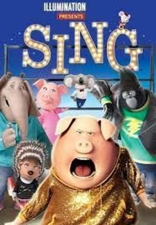 Sing HD Itunes code only (Ports to Vudu if iTunes and Movies Anywhere are linked)