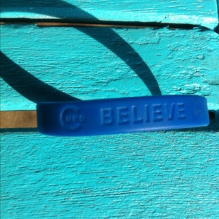 Cubs Believe Bracelet Band