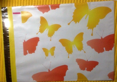 """7 BUTTERFLIES 10"""" x 13"""" Poly Mailers"""