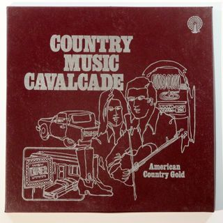 Country Music Cavalcade - American Country Gold 3 Vinyl Lp Box Set {1977 RCA} GOOD CONDITION