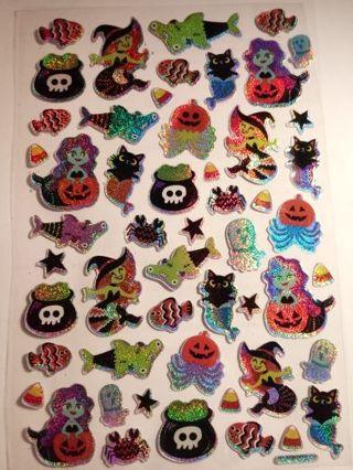 Sparkly Halloween Stickers*2019 Read Description
