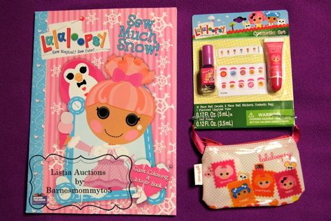 Free: NEW Lalaloopsy coloring book, nail polish, lipgloss ...