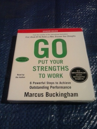 """Audiobook """"GO put your strengths to work"""""""