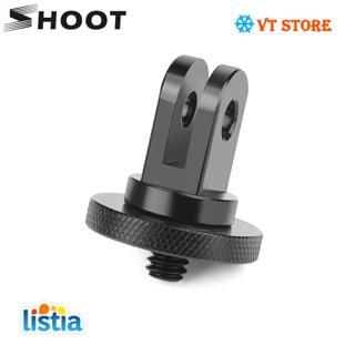 SHOOT Metal 1/4 Mini Tripod Adapter Mount for GoPro Hero 7 6 5 4 Session Xiaomi Yi 4K Sjcam Sj4000
