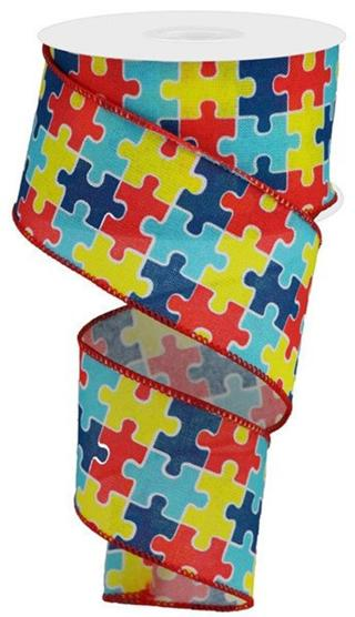 Brand New Autism Awareness Ribbon